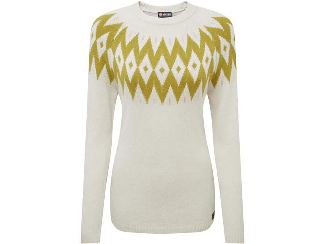 Sherpa Kopan Sweat-shirt à col ras-du-cou Femme, peetho